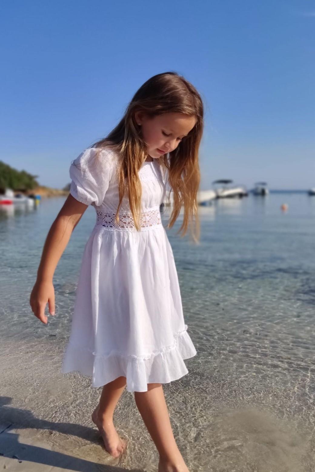 Vestido ibicenco blanco nina Mia1