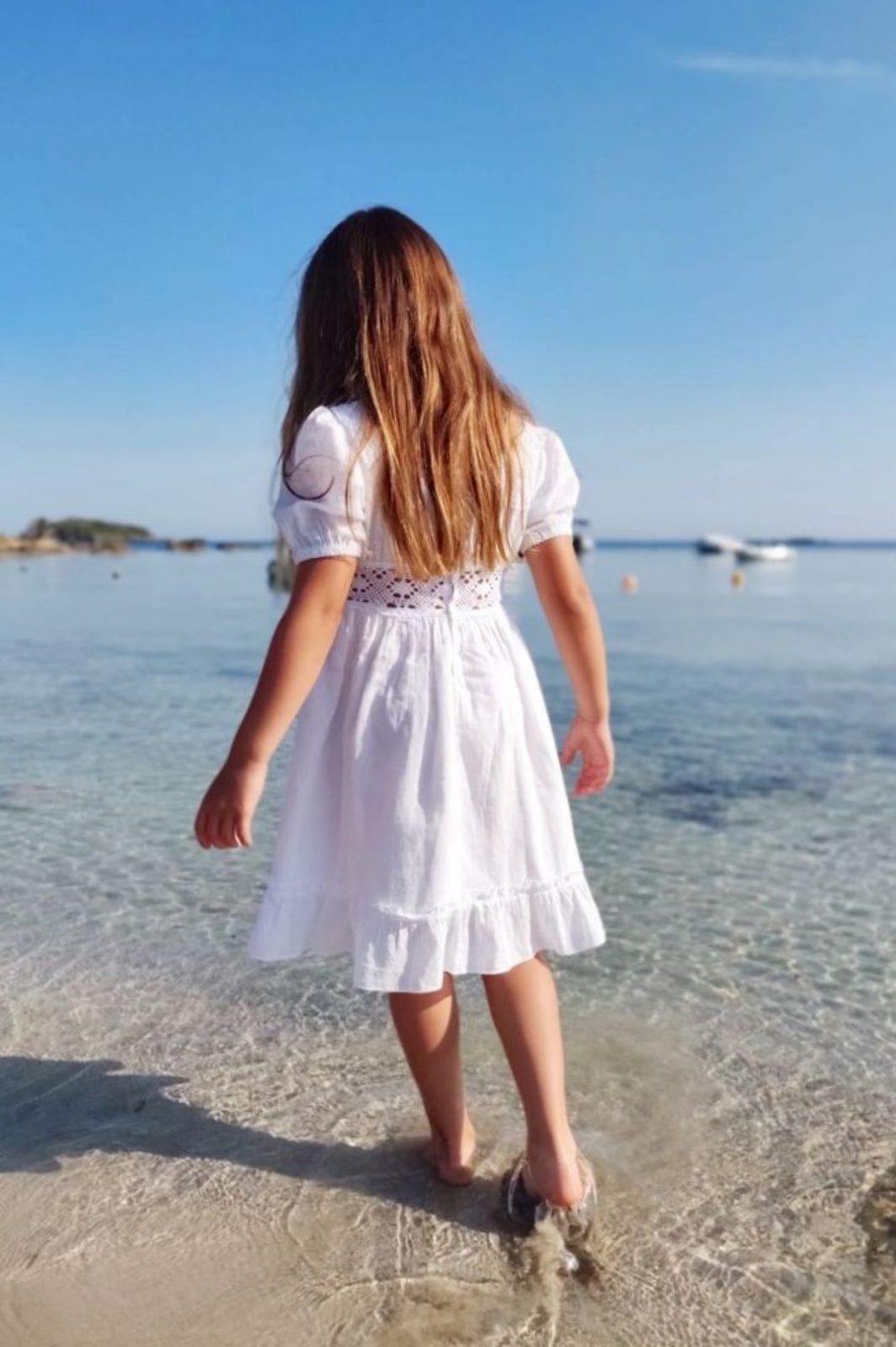 Vestido ibicenco blanco nina Mia2 1