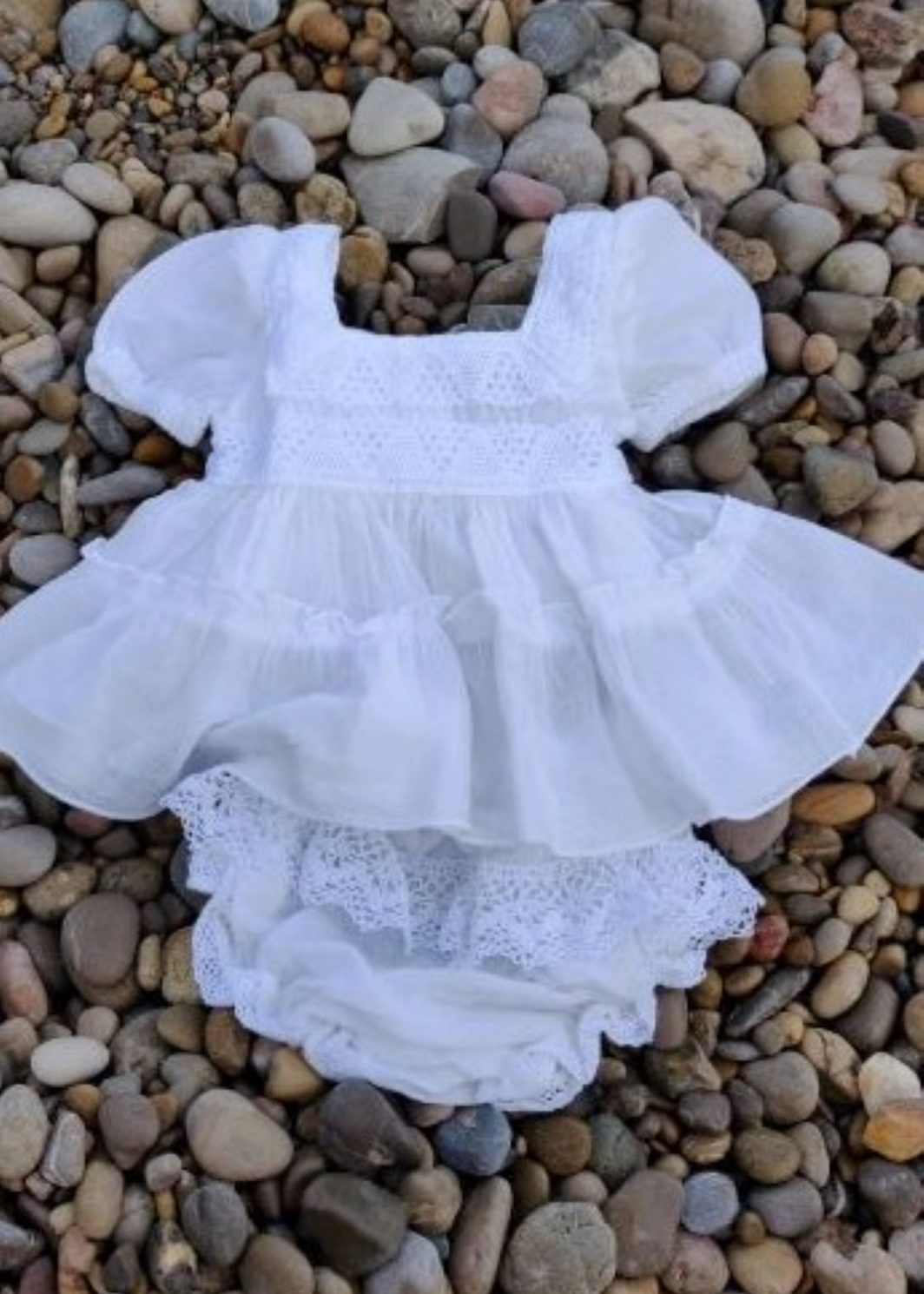 Vestido ibicenco bebe Mia